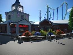Six Flags St Six Flags New England Nachbau Neue Bilder 24 01 2018 Park