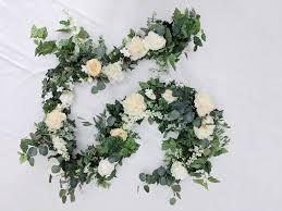 floral garland flower garland wedding flowers silk flowers floral garland
