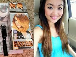 preference wild ombre on short hair diy l oreal feria wild ombre hair tutorial review first