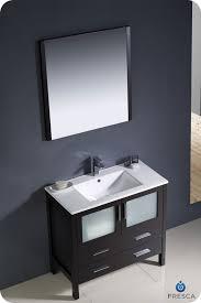 Espresso Bathroom Vanity 36