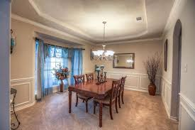 Dining Rooms With Wainscoting Traditional Dining Room With Wainscoting U0026 Bay Window In Pearland