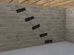 Bowing Basement Wall by Basement Wall Reinforcement Carbonarmor And Armorlock Can