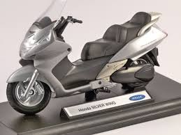 honda silverwing honda silver wing 1 18 scale model welly