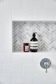 Bathroom Tile Ideas White Colors The Muted Colors Of This Shower Alcove Are Fantastic I Love The
