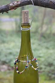 upcycle a wine bottle into a wasp catcher diy network blog made