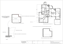 bed and breakfast design drawings and visualisation