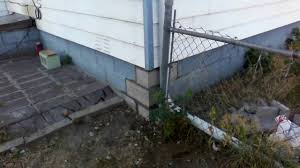 cracked concrete foundation repair in denver youtube