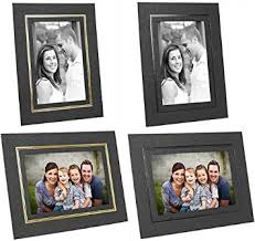 cardboard picture frames for 8x10 in black w gold