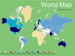 vector map of the world world maps vector editable updated 2017