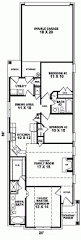 upside down house floor plans house plans for narrow lots on waterfront double storey the