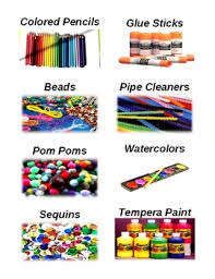 art supply labels with vivid illustrations art supplies art