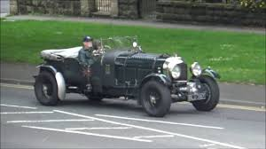 old bentley interior classic bentley motor car cruise through harrogate youtube