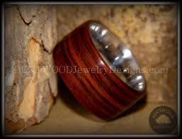 wooden metal rings images Bentwood rings cocobolo wooden rings stainless steel ring core jpg