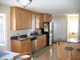 Whitewash Kitchen Cabinets Whitewashed Kitchen Cabinets Modern Style With Glossy Black