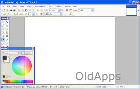 screenshot of paint net 3 5 7 oldapps com