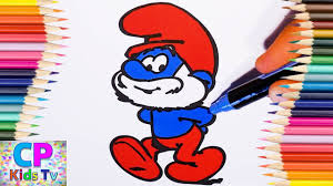 papa smurf coloring pages for kids 1 papa smurf coloring pages