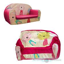 Sesame Street Flip Open Sofa by Kids Children U0027s Soft Foam Toddlers Sofa 2 Seater Nursery Baby