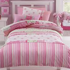 Single Girls Bed by Jiggle Giggle 3 Pce Lucy Shabby Chic Girls Queen Bed Quilt Cover