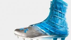 light blue under armour cleats what s on the field