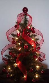 Live Christmas Centerpieces - woodland tabletop live tree holiday evergreen and decorations