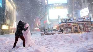 The Biggest Blizzard 2016 Blizzard Was Nyc U0027s Biggest Snowstorm On Record Noaa Report