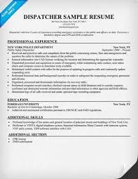Sample Firefighter Resume by Dispatch Clerk Cover Letter
