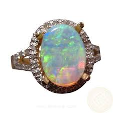 crystal opal rings images 113 best coober pedy opal images opal jewelry fine jpg