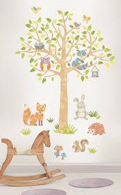 wall pops wpk1164 woodland tree kit amazon com