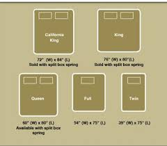 bed measurements size bed dimensions clipart