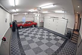 garage gallery racedeck red camaro on racedeck garage flooring