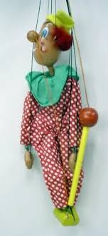 clown puppets for sale marionette string puppets vintage and collectible for sale from