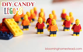 edible legos lego candy diy edible blooming homestead