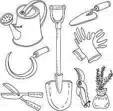 Gardening Tools by Gardening Tools Collection Stock Vector Art 167592316 Istock