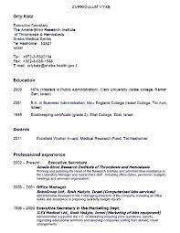 Resume Samples Legal Secretary by Resume Secretary Resume Template