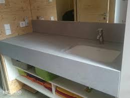 Bad Waschtisch Badezimmer Design Betonoptik Waschbecken Resimdo