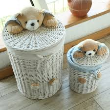 aliexpress com buy woven wicker baskets round laundry hamper