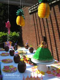 hawaiian birthday party