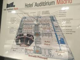 Madrid Spain Map by The Travelman Madrid Marriott Auditorium Hotel U0026 Conference