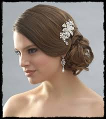 hair accessories for weddings wedding jewelry plus hair accessories plus wedding gown equals
