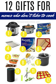 cooking gifts 12 gift ideas for the mom who doesn t like to cook working mom