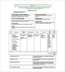 commercial invoices for exporting templates 30 commercial invoice templates word excel pdf ai free