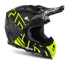 yellow motocross helmets airoh aviator 2 2 motocross helmet styling yellow matte