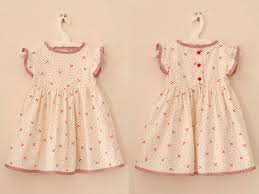 Vintage Style Baby Clothes Summer Baby Dress Pattern From