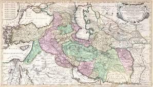 Persia Map File 1730 Ottens Map Of Persia Iran Iraq Turkey Geographicus
