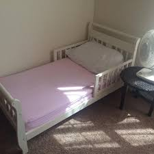Shabby Chic Bed Frames Sale by Find More Shabby Chic Off White Toddler Bed Used Two Years Guc