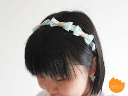 bando headbands diy bows headband onelmon