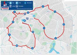 Route Map by Route New Swindon Half Marathon