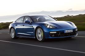 Porsche Panamera Hybrid Mpg - porsche panamera hybrid first drive review front three quarter in