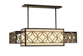 Rectangular Shade Pendant Light by Murray Feiss F2468 4htbz Pgd Dining U0026 Foyer Chandeliers Remy