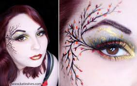 Makeup Tutorials For Halloween by Fall Fairy Makeup Tutorial Youtube